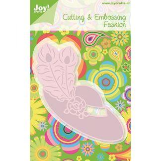 Joy! - Hoed met veren