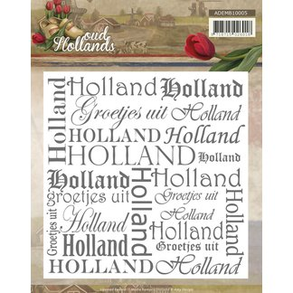 AD - Embossing Folder - Oud Hollands