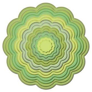 Big Scalloped Circles SM